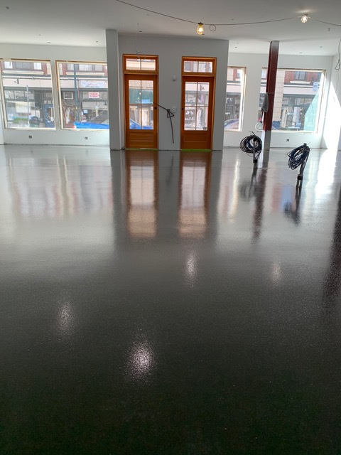 Epoxy flooring in in New London, Connecticut
